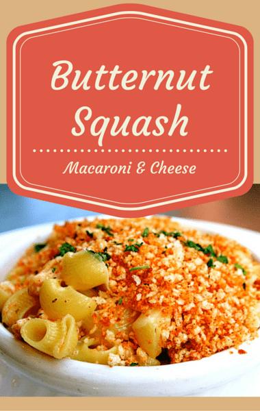 Dr Oz: The Pioneer Woman + Butternut Squash Mac & Cheese