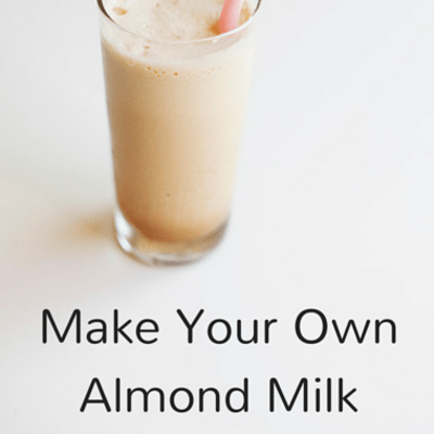 Dr Oz: Is Almond Milk Good For You? + Make It Yourself