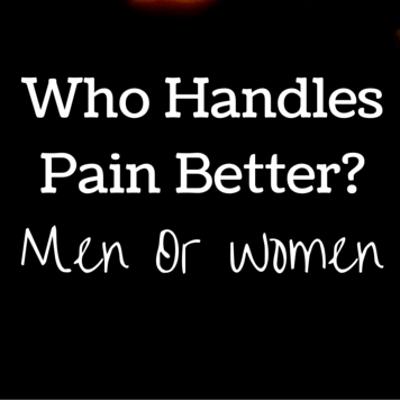 Dr Oz: Men VS Women, Weight Loss & Pain Tolerance