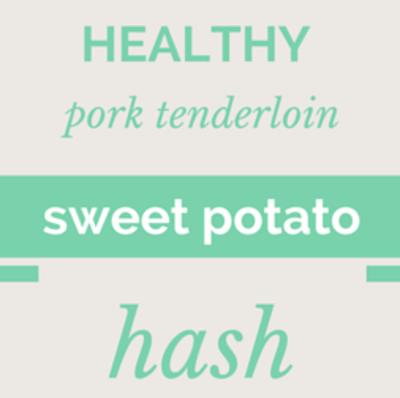 Dr Oz: Bacon Obsession + Pork Tenderloin Sweet Potato Hash