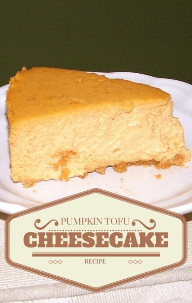 Dr Oz: Pumpkin Tofu Cheesecake Recipe
