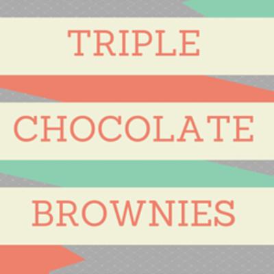 Dr Oz: Anti-Inflammatory Diet + Triple Chocolate Brownies Recipe