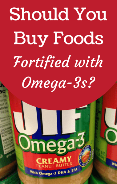 Dr Oz: Food Fortified With Omega-3s + Daily Recommendation