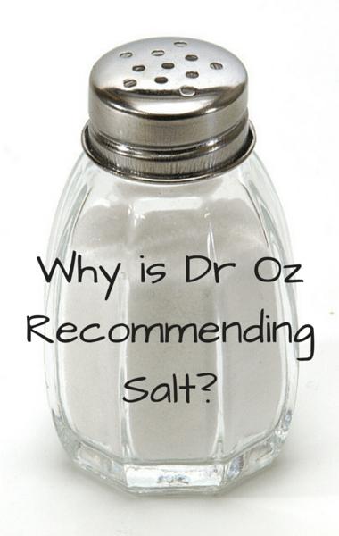 Dr Oz: Slow Thyroid Triggers & Boosts + Salt Recommendation