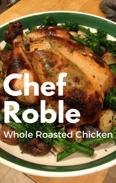 Dr Oz: Chef Roble Whole Roasted Chicken Recipe