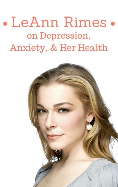 Dr Oz: LeAnn Rimes Anxiety & Depression + Psoriasis