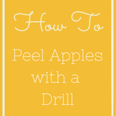 peel-apples-with-drill-