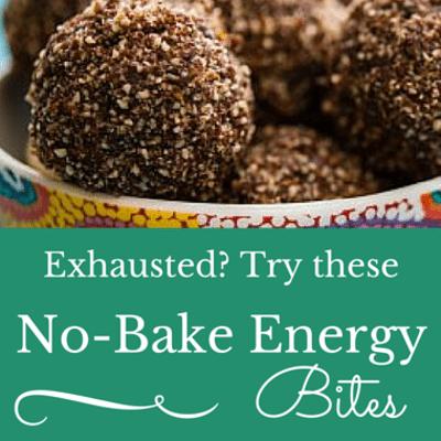 Dr Oz: No-Bake Bites For More Energy + Caffeinated Foods