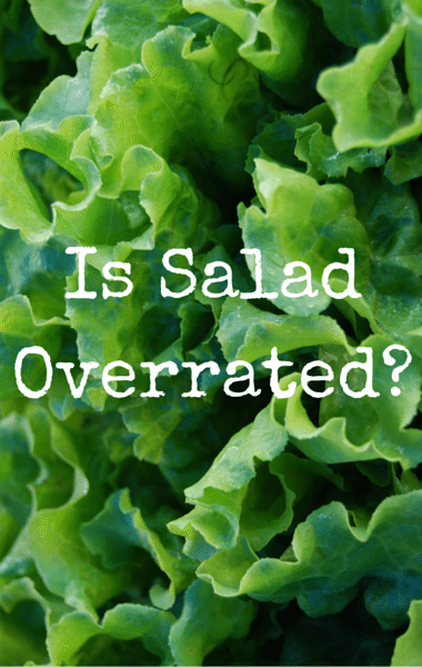 Dr Oz: Salad Controversy + Too Expensive & Void Of Nutrition?