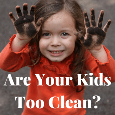 Dr Oz: Are Kids Too Clean? + Dirt Cure Boosts Children's Health