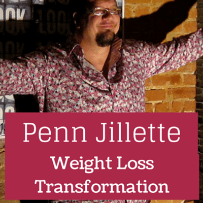 Dr Oz: Penn Jillette Weight Loss + Skin Removal Surgery Success