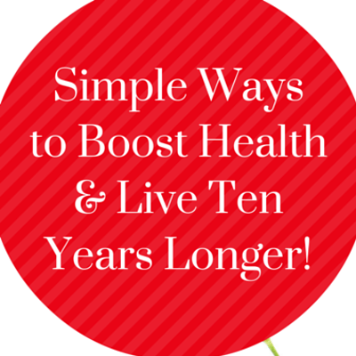 Dr Oz: Add 10 Years To Your Life + Easy Ways To Get Healthy