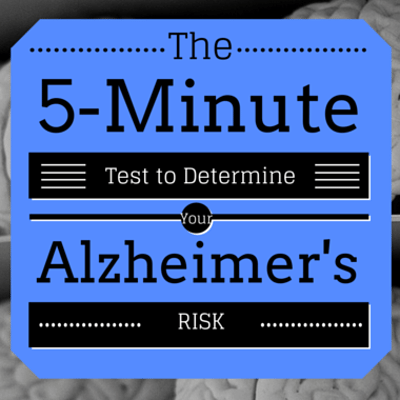 Dr Oz: Quick At-Home Test To Screen For Alzheimer's + Prevention