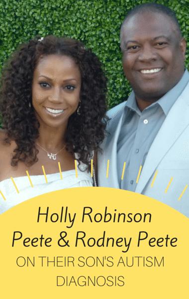 Dr Oz: Holly Robinson Peete & Rodney Peete Son With Autism