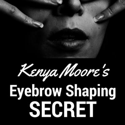 Dr Oz: Kenya Moore Troubled Childhood & Eyebrow Secrets