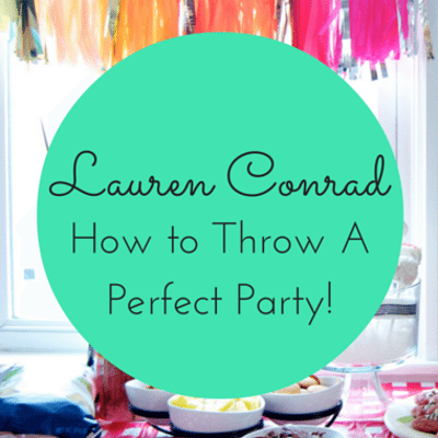 Dr Oz: Lauren Conrad Slimming Wraps + Party Hosting Tips