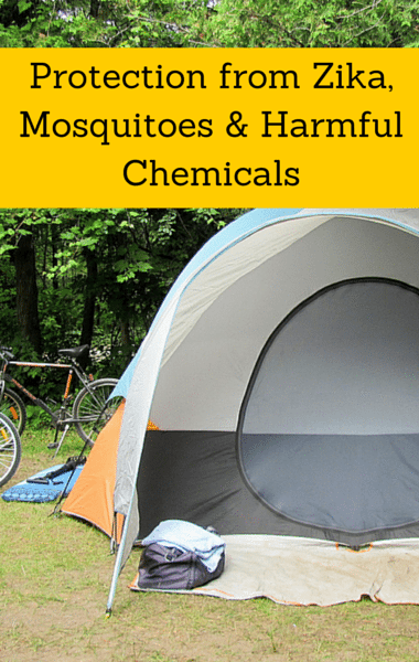 Dr Oz: Safe Mosquito Repellents + Chemicals In Camping Tents