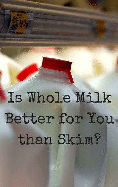Dr Oz: Whole VS Skim Milk + Shopping Tips For Healthier Choices