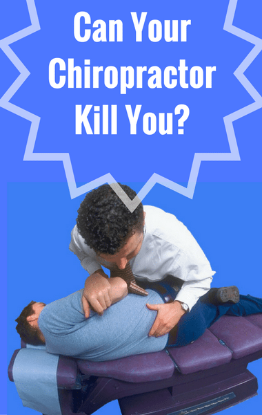 Dr Oz: Chiropractic Neck Manipulation & Model's Death From Stroke