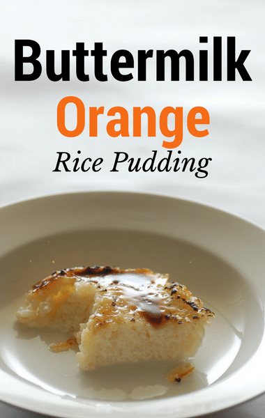 Dr Oz: Vivian Howard Buttermilk Orange Rice Pudding + Pistachio