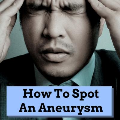 Dr Oz: Brain Aneurysm Signs & Risk + Sudden Thunderclap Headache