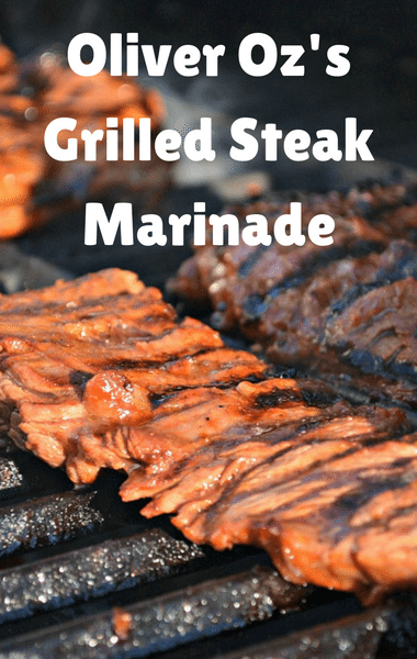 """Dr Oz: Oliver Oz Grilled Steak With """"The Boys"""" Marinade Recipe"""