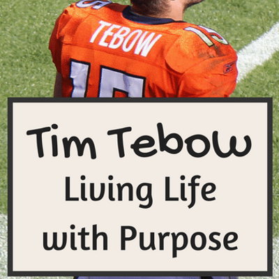 "Dr Oz: Tim Tebow ""Shaken"" + Life Purpose & Finding Identity"