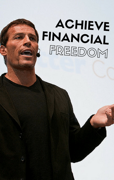 Dr Oz: Tony Robbins Financial Freedom + Invest, Compound Interest