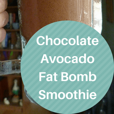 Dr Oz: Chocolate Fat Bomb Smoothie Recipe {F Bombs Stop Cravings}