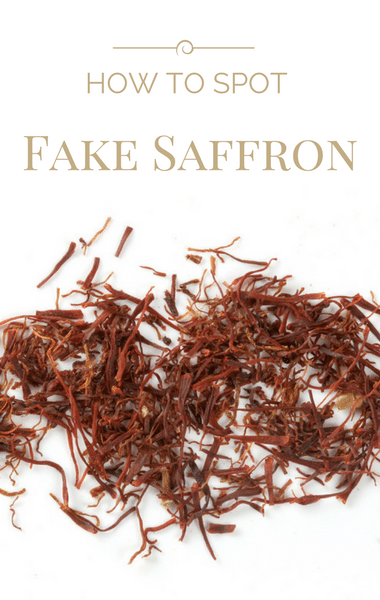 Dr Oz: Counterfeit Spices + Expensive Spice & Fake Saffron Test