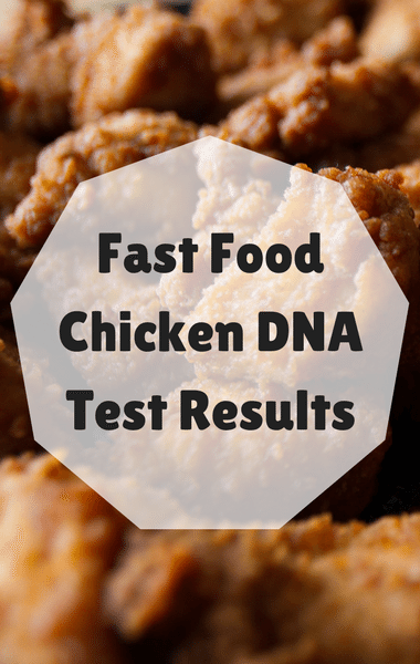 Dr Oz: Fast Food Chicken DNA Test + Ingredient Transparency
