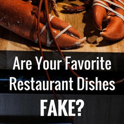 Dr Oz: Fake Restaurant Dishes + Real Crab, Lobster, & Kobe Beef