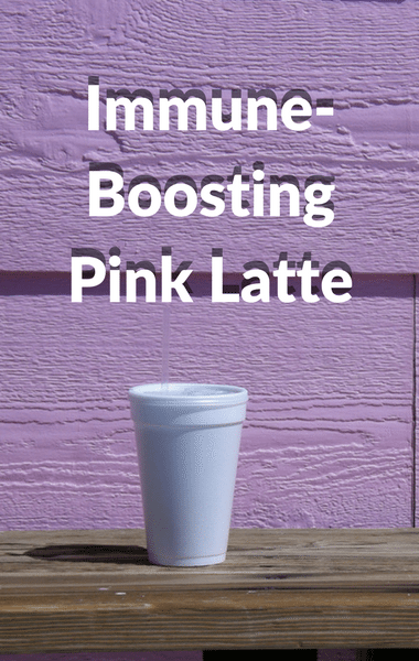 Dr Oz: Immune-Boosting Pink Latte + Healthier Coffee Add-Ins