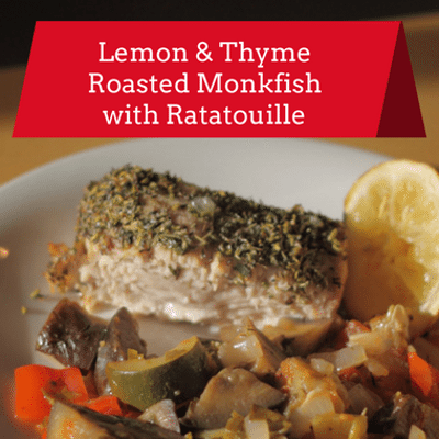 Dr Oz: Sheet Pan Dinner Lemon Thyme Roasted Monkfish Recipe