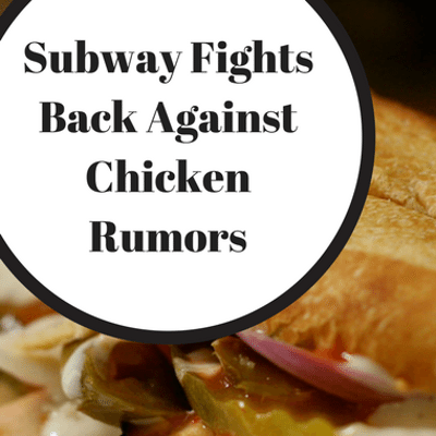 Dr Oz: Fast-Food Chicken Test: What's Really In Subway's Chicken?