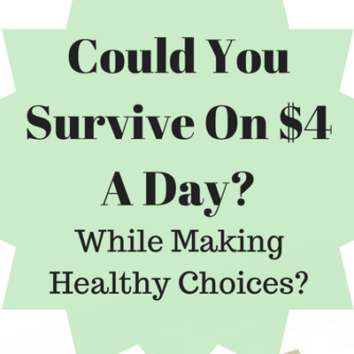 Dr Oz: Could You Survive Eating Healthy On $4 a Day #OZCHEAPEATS