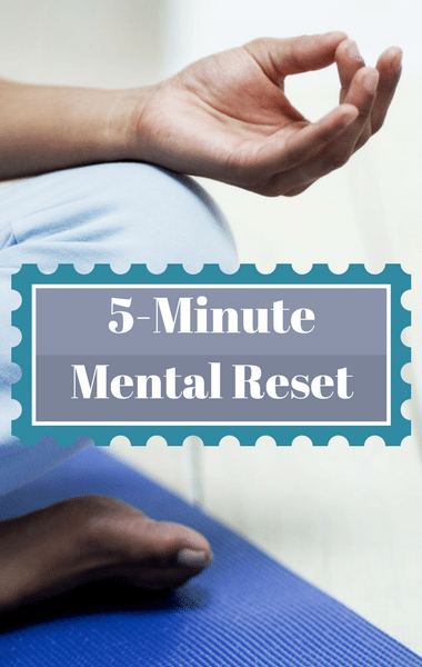 Dr Oz Mindful Monday: 5-Minute Mental Health Reset