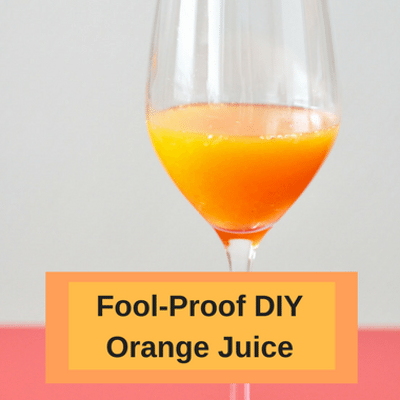 Dr Oz: How To Make Orange Juice for 60 Cents & 50 Calorie O.J.