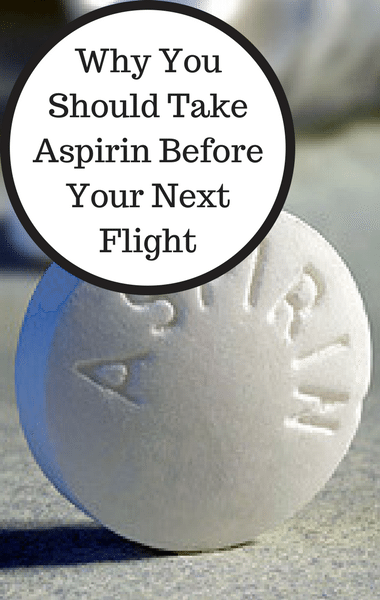 Dr Oz: Does Taking Aspirin Before You Fly Prevent Heart Attacks?