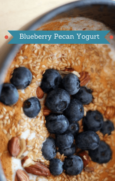 Dr Oz: 10-Day Tummy Tox + Flax Seeds, Blueberry Pecan Yogurt