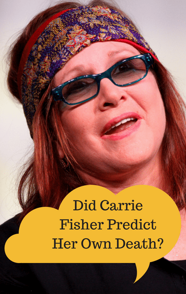 Dr Oz: Did Carrie Fisher Predict When She'd Die to James Blunt?