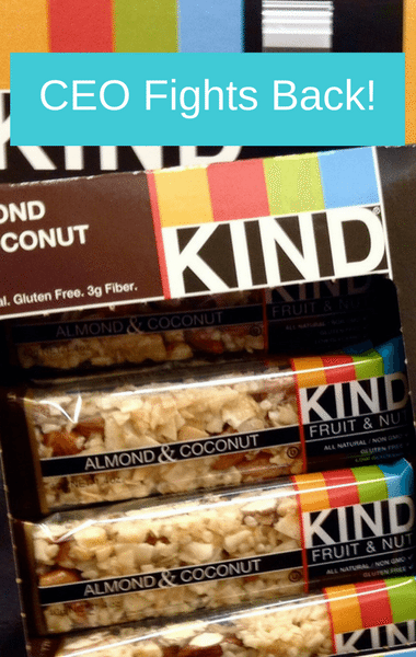 Dr Oz: KIND Bar CEO Fights Back Against FDA Health Regulations
