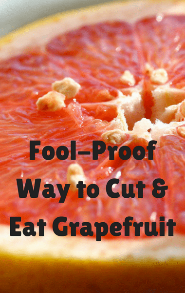 Dr Oz: Best Way To Cut Grapefruit + How to Pick Grapefruit