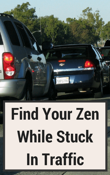 Dr Oz: Find Peace & Calm While Stuck in Traffic + Deep Breaths