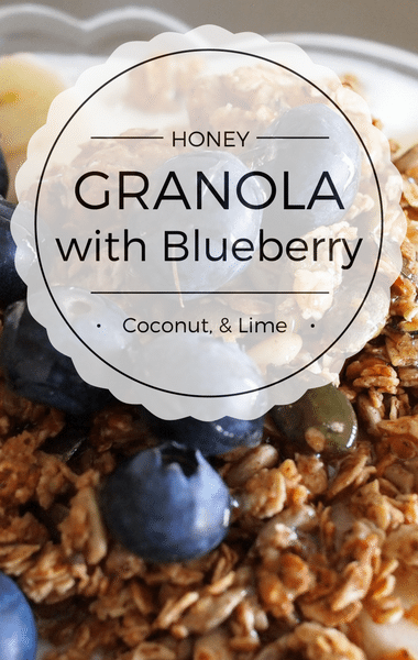 Dr Oz: Sugar Substitutes + Granola With Blueberry, Coconut, & Lime