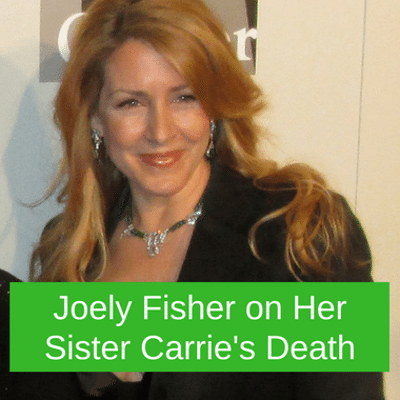 Dr Oz: JMama Twitter Joely Fisher (Carrie Fisher's Sister)
