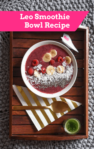 Dr Oz: Leo Smoothie Bowl Recipe + Health Horoscopes & Yoga Poses