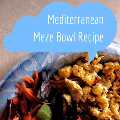 Dr Oz: Rocco DiSpirito Mediterranean Meze Bowl & 211 Meal Formula