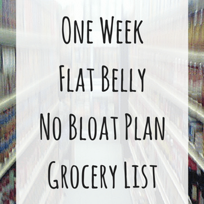 Dr Oz: Savory Overnight Oats Recipe & Beat Belly Bloat Plan Grocery List