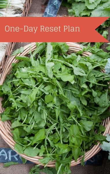 Dr Oz: 1 Day Reset + Herbal Water & Spinach/Beet Breakfast, Algae